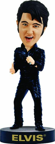 Elvis Bobblehead Leather Comeback Special