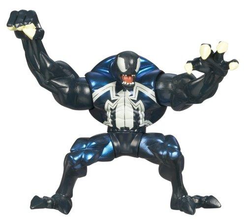 Spectacular Spider Man The Alien Costume (Spiderman Animated Action Figure - Venom)