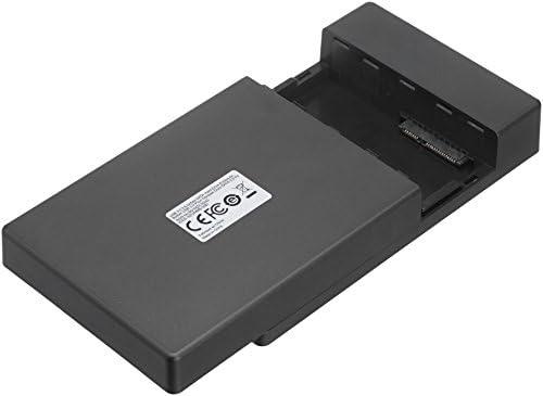 AmazonBasics – Carcasa para disco duro SATA (USB 3.0), 3.5-inches 41InOvirNOL