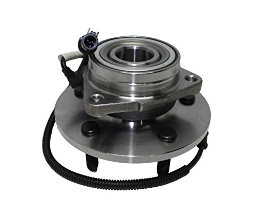 Brand New Front Wheel Hub and Bearing Assembly 2000-02 Ford Expedition, Lincoln Navigator 4x4 5 Lug W/ - Bearing Axle Ford Expedition
