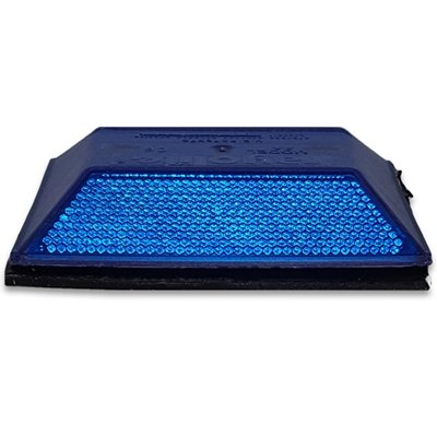 DOT Peel-N-Stick Blue Reflective Road Marker (2 Pack) (Stick Dot)