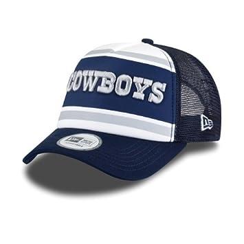 049cbcd5bee New Era Dallas Cowboys Word Fill NFL Trucker Cap  Amazon.co.uk  Sports    Outdoors