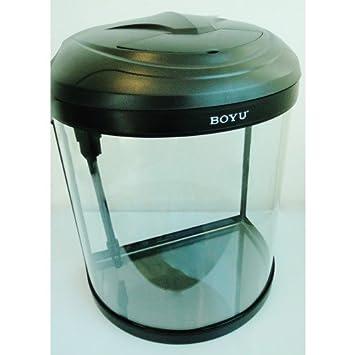 Pequeño tanque de peces de acuario Nano Tropical/Coldwater 26 L Boyu en negro: Amazon.es: Productos para mascotas