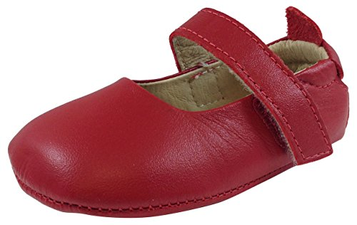 Old Soles Kid's 022 Red Leather Gabrielle Mary Jane 21 M EU/5 M US Toddler by Old Soles