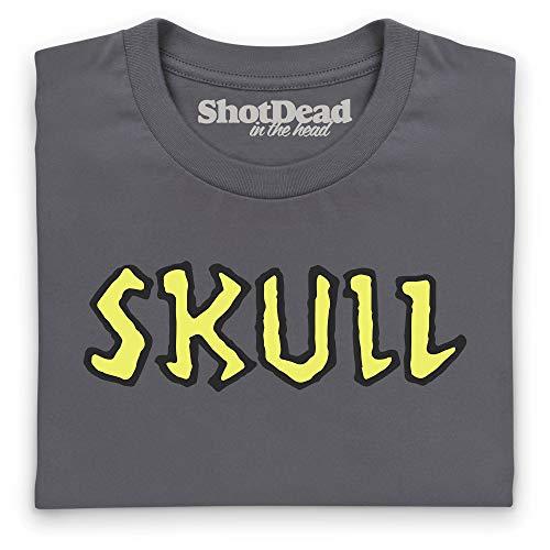 Mujer Gris Shotdeadinthehead Para Marengo Camiseta Skull Kq4T8wYAa
