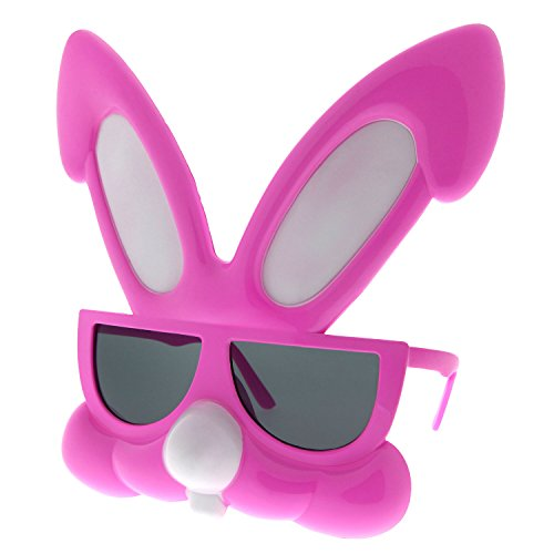 grinderPUNCH Rabbit Party Costume Sunglasses Bunny Animal Furries Easter Egg - Sunglasses With Egg