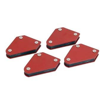 Neilsen CT1930 - Minisoportes magnéticos para soldar (4 unidades), color rojo: Amazon.es: Bricolaje y herramientas