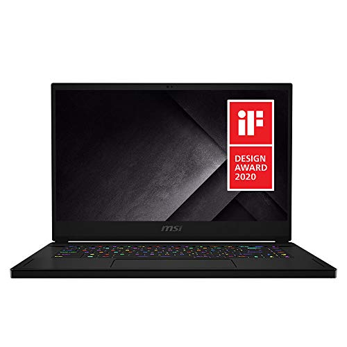 """MSI GS66 Stealth 10SGS-036 15.6"""" 300Hz 3ms Ultra Thin and Light Gaming Laptop Intel Core i7-10750H RTX 2080 Super 32GB 512GB NVMe SSD Win10PRO VR Ready"""