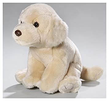 Carl Dick Peluche - Perro Golden Retriever o Cobrador Dorado (felpa, 18 cm)