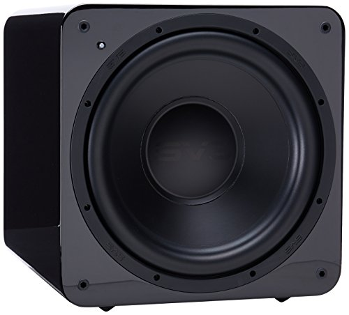 SVS SB-1000 Subwoofer (Piano Gloss Black) - 12-inch Driver, 300-Watts RMS, Sealed Cabinet