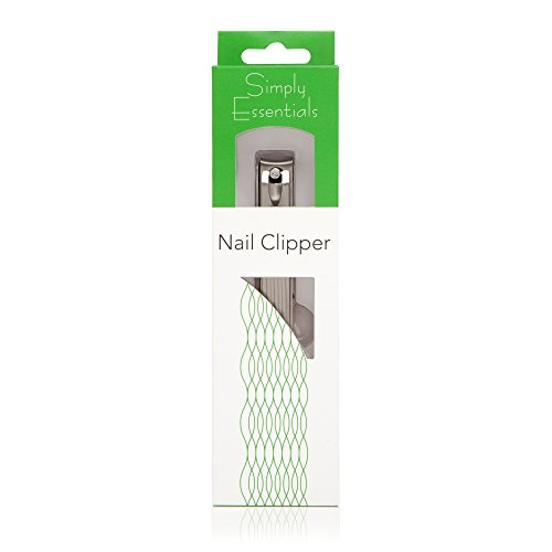BEST NAIL CLIPPERS FOR MEN - Stainless Steel with Nail Catcher - For Toenails and Fingernails - Very Sharp! by Simply Essentials (Image #3)
