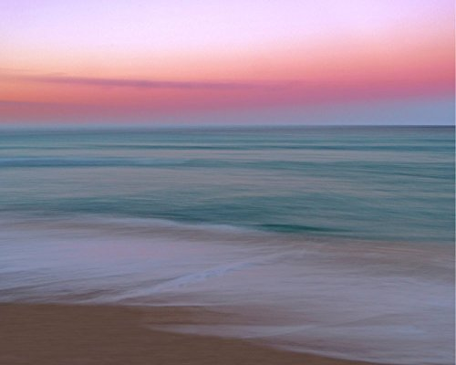 South Beach Colors Abstract Seascape Fine Art Photography Print by Roman Gerardo by Roman Gerardo Miami Beach Fine Art Photography Prints