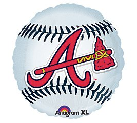 Anagram International Atlanta Braves Package Party Balloons, 18