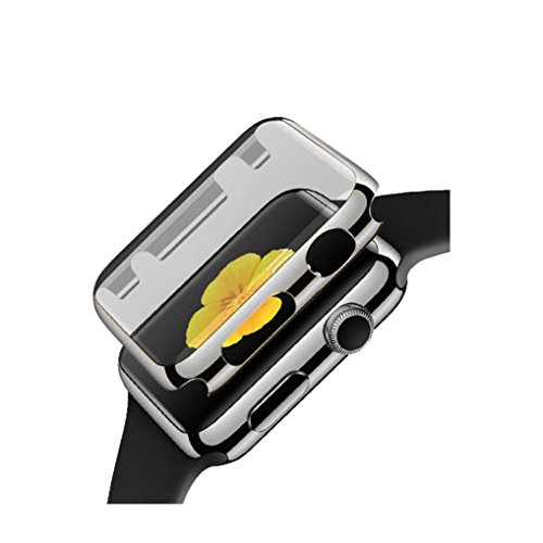 Price comparison product image GBSELL Ultra-Slim Electroplate PC Hard Case Cover For Apple Watch Series 1 42mm (Black)
