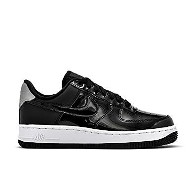 63a3d9149f668a Nike Women s Air Force 1`07 SE PRM Black Black - Reflect Silver AH6827001