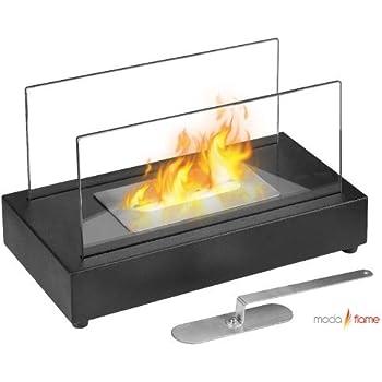 GF301801 Vigo Table Top Ethanol Fireplace - Black