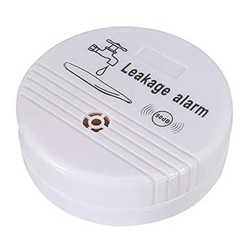 EgBert Detección De Fugas De Agua Detector De Fugas De Agua Wireless Sensor De Agua Detector De Alarma Fuga Hogar Monitor De Seguridad: Amazon.es: Hogar