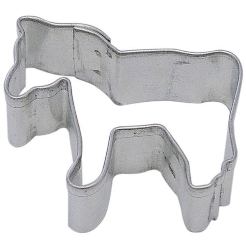 Miniature Horse Cookie CutterTin Plated SteelApprox 1.75 inches