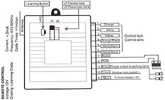 X AUTOHAUX Universal Car Remote Central Kit Door Lock ... on