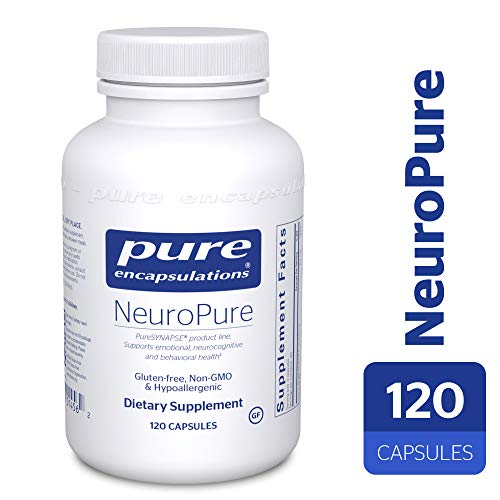 Pure Encapsulations - NeuroPure - Hypoallergenic Supplement with Enhanced Support for Emotional Balance and Mood Stability* - 120 Capsules