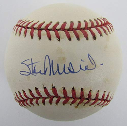 - Stan Musial Cardinals Signed/Autographed Rawlings ONL Baseball JSA 140736