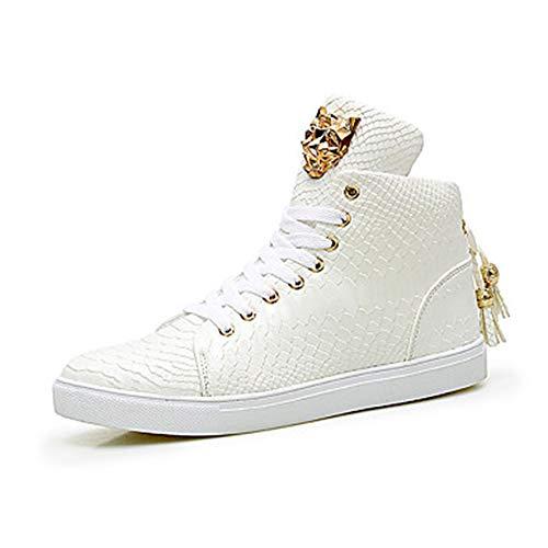 Nero 5 EU36 White Punta Microfibra Di Comoda 5 Per CN35 Piatto Lacci Pelle Sneakers TTSHOES UK3 Donna Primavera US5 Scarpe Bianco Autunno Tonda pqP1waZHax