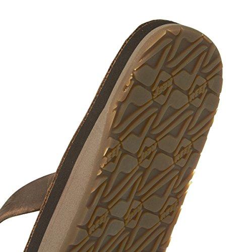 Reef Flip Flops - Reef Skinny Leather Flip Flop...