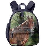 Arabian Horse Teens Cute Patterns Printed Backpack School Bag Travel Daypack