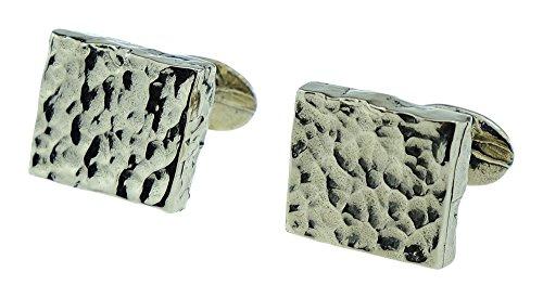 8th-Wedding-Anniversary-Solid-Bronze-Rustic-Cufflinks-Polished-Finish-8th-Anniversary-Gift-Idea