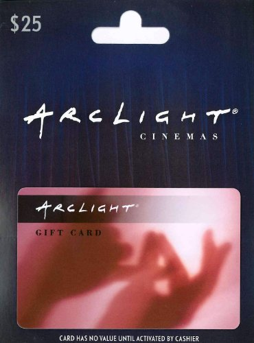 ArcLight Cinemas $25 (Card Fandango Gift)