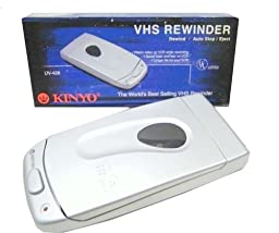 Kinyo UV-428 VHS Video Cassette Tape Rewinder VCR Auto Stop Soft Eject