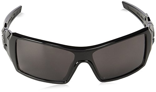 22402359854d Oakley Oil Rig Mens Lifestyle Sunglasses - Polished Black Warm Grey One Size