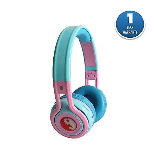 Acid Eye Foldable Bluetooth Headphone with Mic Wireless Headset  Black1