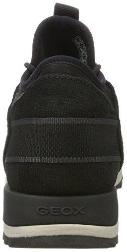 A black Abx Sneakers D Geox Basses Noir B Aneko Femme PSqxU7