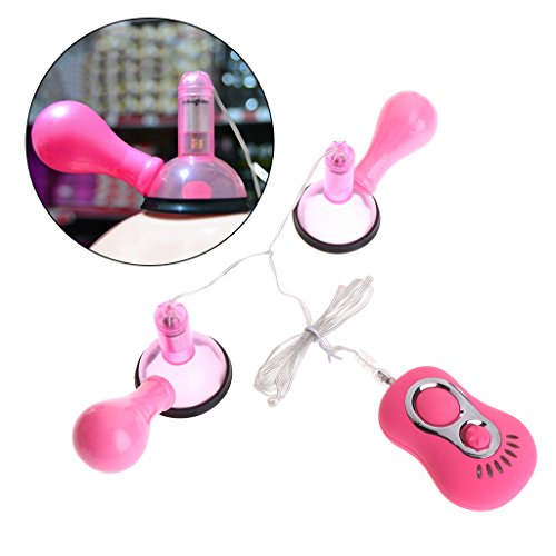 Fucung 7 Frequency Vibrating Breast Sucker Female Vibration Suction Adult Massage Toy