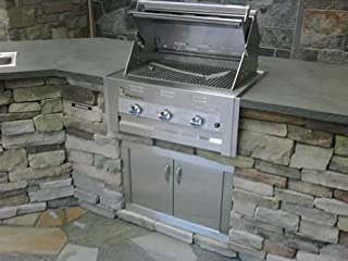 product image for Lazy Man Barbecue - Three Broiler Burners - Built in Grill Propane Model