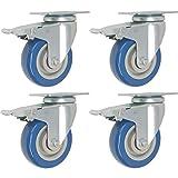 Online Best Service 4 Pack Caster Wheels Swivel