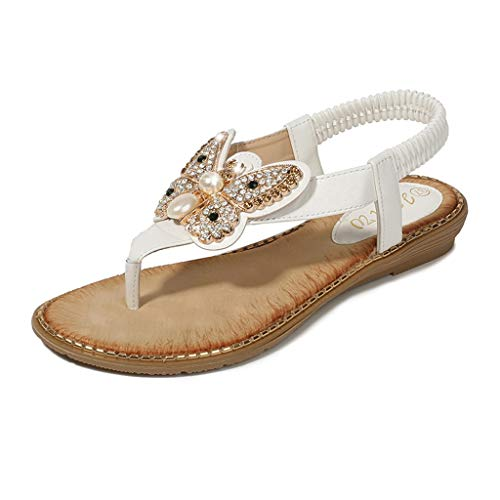 (LYN Star✨ Ladies's Shoes Signature Sandal: Comfort Walking Ergonomic Flip Flops, Slides & Sandals for Women White)