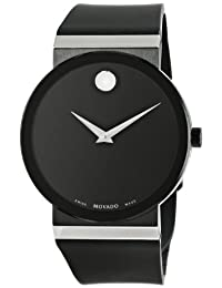 Movado Men's 0606780 Sapphire Synergy Analog Display Swiss Quartz Black Watch