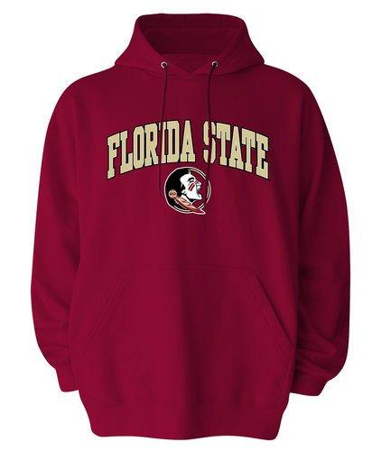 - Elite Fan Shop Florida State Seminoles Mens Hoodie Sweatshirt - L - Garnet