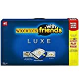 Toy / Game Supreme Words With Friends Luxe With A Rotating Gameboard, Tile Grip Grid And Special Racks