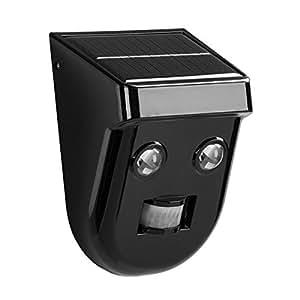 LightsEtc LED Solar Lights Motion Sensor Light Waterproof Security Night Lights for Outdoor