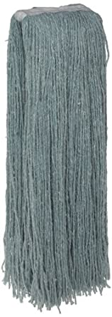 Zephyr Blendup Green Blended Natural and Synthetic Fibers Cut End Wet Mop Head (Pack of 12)
