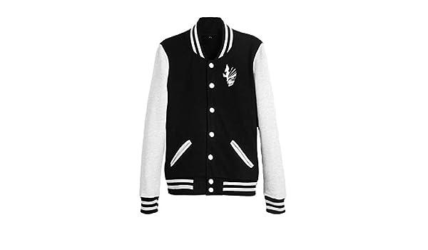 Gumstyle Dragon Ball Anime Unisex Slim Fit Varsity Baseball Uniform Lightweight Jacket Sport Coat
