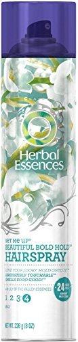 Hair Spray Set - Herbal Essences Set Me Up Beautiful Bold Hold Hairspray 8 oz (Pack of 4)