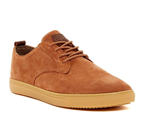 Clae Ellington Lace-Up Grizzly Suede Sneakers - US 9.5