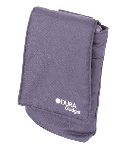 DURAGADGET Secure Nylon Black GPS Case With Velcro Closure & Belt Loop For Skycaddie BREEZE, Skycaddie SGX, Skycaddie SGXw