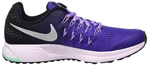 Nike 834317-500, Zapatillas de Trail Running para Mujer Morado (Dark Iris / Metallic Silver-Black)