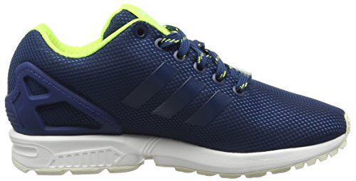 Flux Shadow Yellow Low ZX Unisex Blue Blau adidas Solar Halo Top Erwachsene t4Tw74Fq