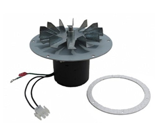 Combustion Air Blower - Whitfield & Lennox Exhaust Combustion Blower Motor Assembly 7 Mounting Hub, Profile 20 & 30, Traditions 300s, Optima 2 & 3, For Pellet Stoves by Whitfield-Lennox